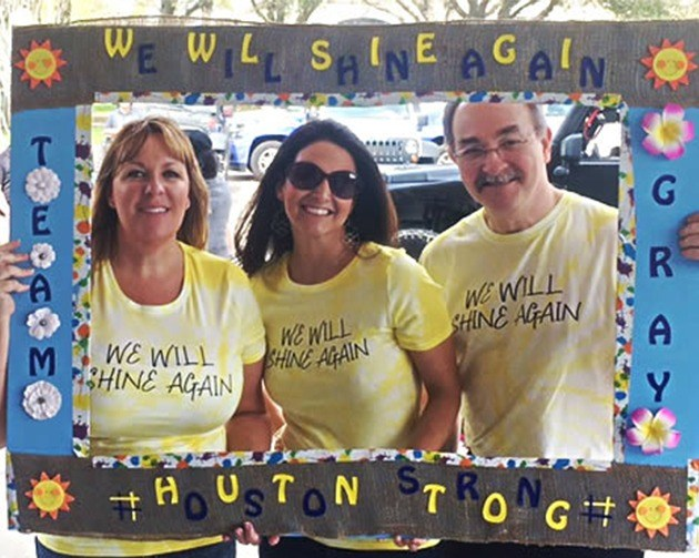 Team with we will shine again shirts