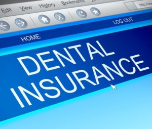 Computer screen to maximize dental insurance benefits.